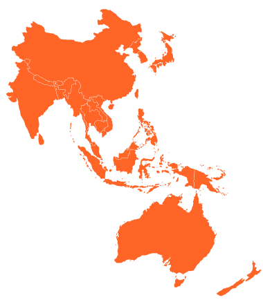 APAC Map of CWNE